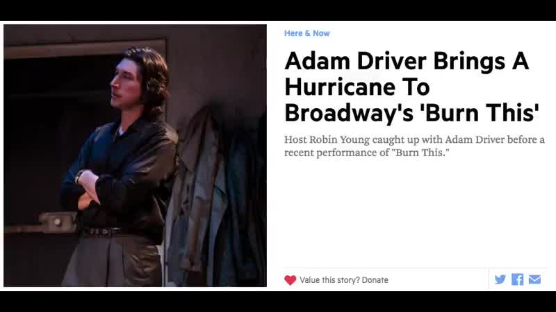 Adam Driver dodges the Star Wars questions again