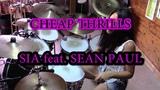 SIA ft. SEAN PAUL - CHEAP THRILLS - DRUM COVER by CHIARA COTUGNO