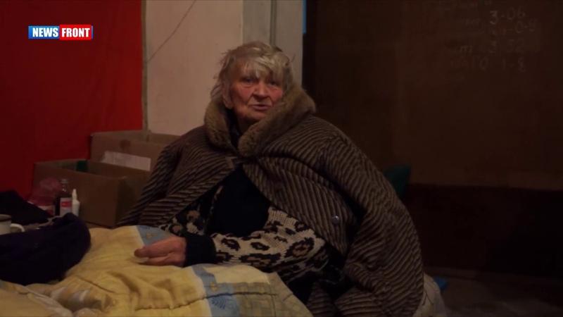 Донецк: бомбоубежище, где люди живут пятый год