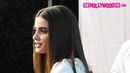 Taylor Hill Her Boyfriend Michael Shank Stop By Extra At Universal Studios Hollywood 1.24.19