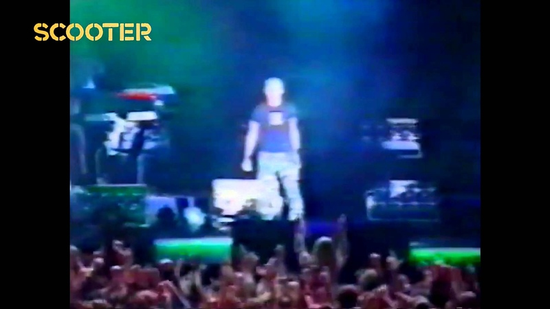 Scooter - I'm Your Pusher (Live In Moscow Sheffield Tour 2000)HD