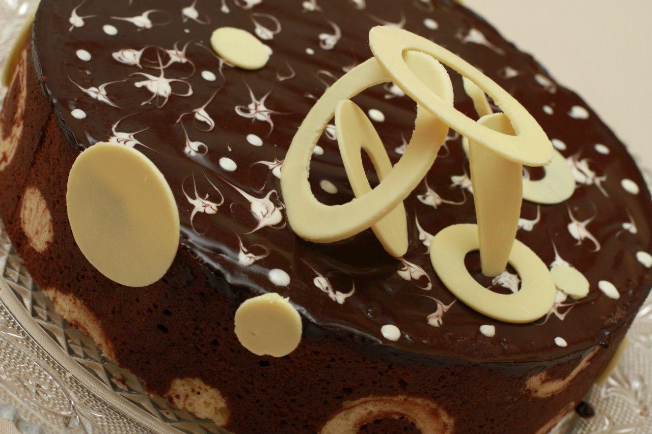 Как сделать глазурь из шоколадки для торта