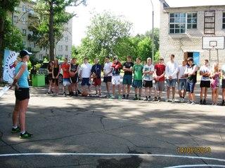 Турнир по уличному баскетболу, посвященный дню города Валдай