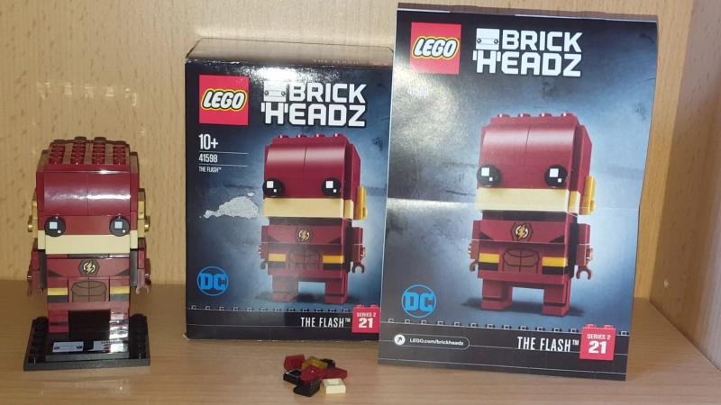 Lego Brickheadz The Flash Set 41598 Review/Лего Брикхедс Флэш 41598 Обзор на набор