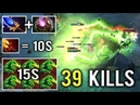 NIGHTMARE IS REAL Non-Stop Finger Octarine Lion Mid 39 Kills Crazy Dagon 5 Gameplay by KurokY Dota 2