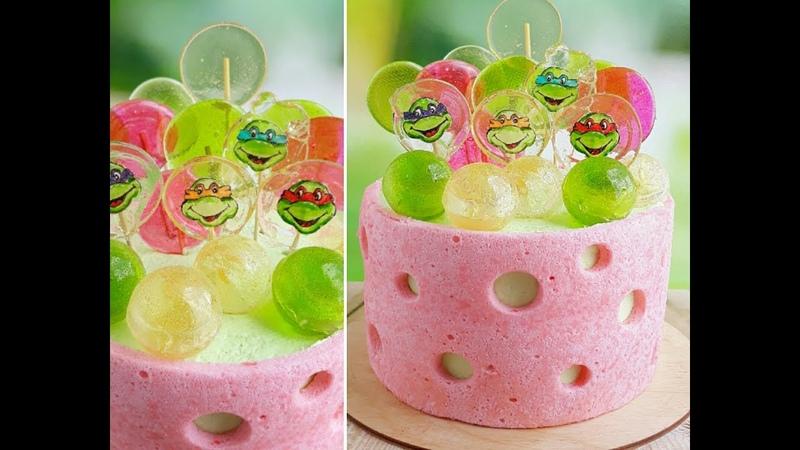 Карамельный декор Японский заварной бисквит
