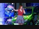 Выступление Оксаны Дроздовой на передаче Поле Чудес на 1 Канале Песня Взлом системы