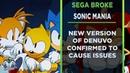 SEGA breaks Sonic Mania Plus with new Denuvo update