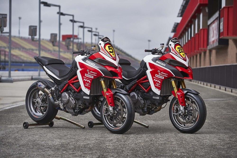 Фото гоночных мотоциклов Ducati Multistrada 1260 Pikes Peak 2018