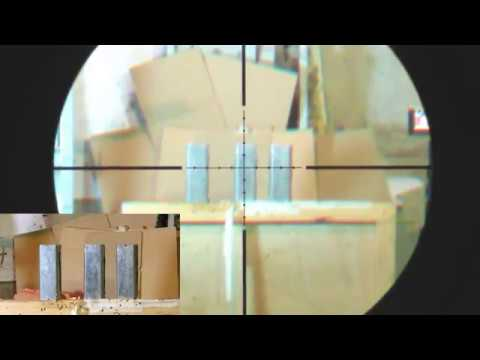 Hatsan BT65 50 yards (scopecam)