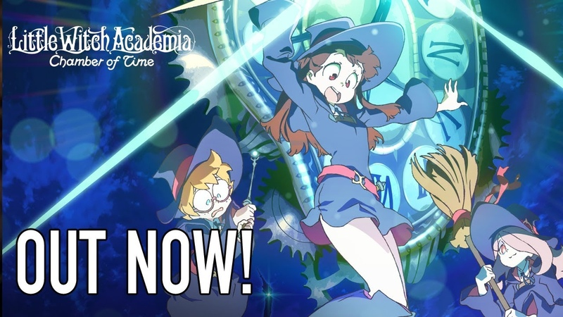 Little Witch Academia Chamber of Time - PS4PC - Out Now! (EN release Trailer)