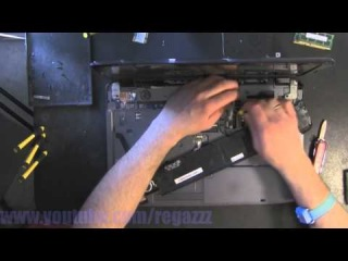 ACER 5740 5340 MS2286 take apart video, disassemble, howto open (nothing left) disassembly