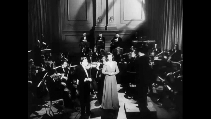 Eula Beal and Yehudi Menuhin • Lord, Have Mercy on Me • Concert Magic (1948)