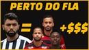 Gabigol custará ao Flamengo o mesmo que 3 reservas que foram embora