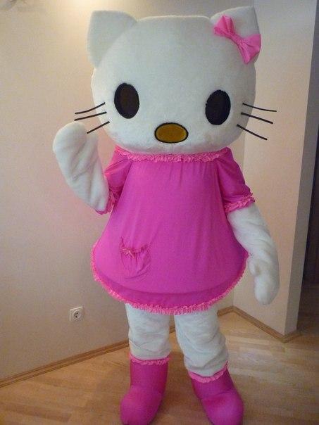 Kitty.ростовая кукла!