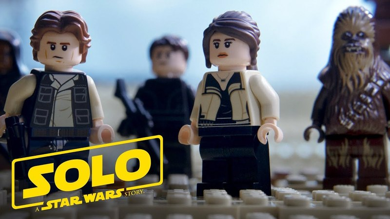 Solo A Star Wars Story Official Trailer As Told with LEGO Bricks