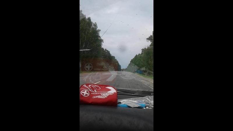 по дороге в Колывань
