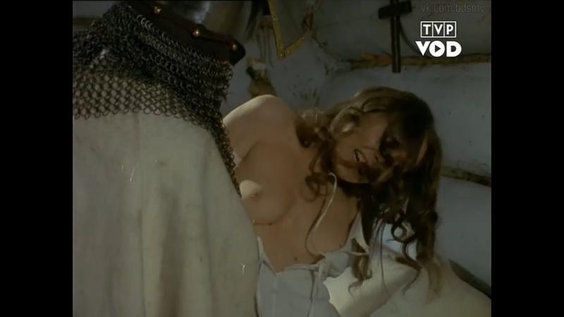 бдсм сцены bdsm бондаж сексуальное насилие из сериала Przyłbice i kaptury 1984 1985 1986 год