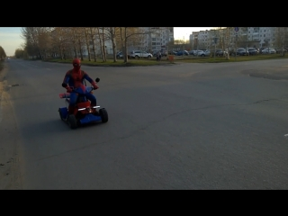 В Северодвинске был замечен Spiderman