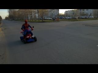 В Северодвинске был замечен Spiderman