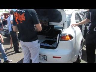 Автозвук 2013 (Набережные Челны), Mitsubishi Lancer с диджейским пультом