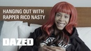 Does Room Service with Rico Nasty (Dazed)