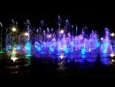 Поющий фонтан в парке Горького в Казани