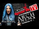 ARCH ENEMY vocal range of Alissa interview