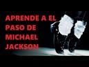 Como hacer el paso de Michael Jackson (facil) muy simple (Jhon Palacios el Michael Jackson Peruano)