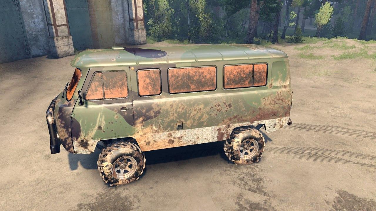 "УАЗ 2206 ""Буханка"" для Spintires - Скриншот 3"