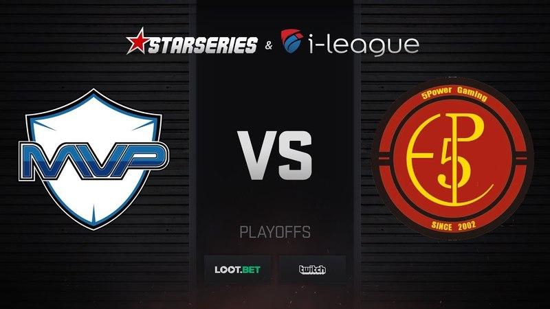 MVP PK vs 5POWER, map 1 dust2, StarSeries i-League S5 Asian Qualifier