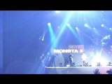 VK180812 MONSTA X fancam - Ending @ THE 2ND WORLD TOUR 'The Connect' in Sao Paulo