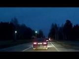 Жесткое дорожно-воздушное происшествие! Снежинск 24 октября 2018