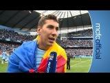 COSTEL PANTILIMON ON TITLE   City v West Ham Champions 2014