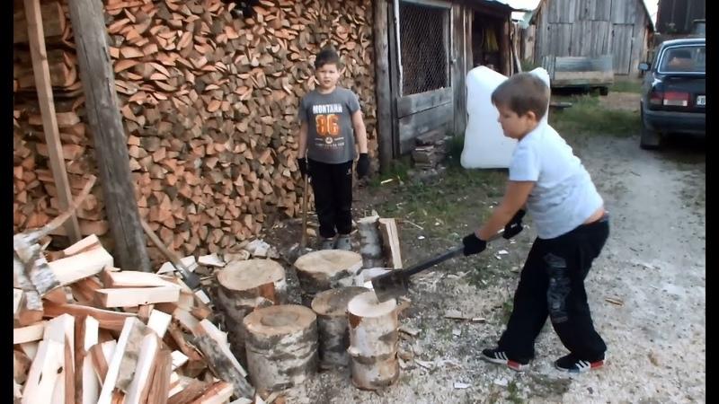 Колка дров Инструкция для Чайника Даже дети могут...