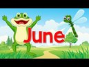 June | Fun Song for Kids | Month of the Year | Jack Hartmann