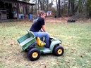 Renee riding gunners john deere power wheels