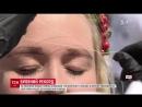 На Поштовій площі встановили рекорд із масового фарбування брів