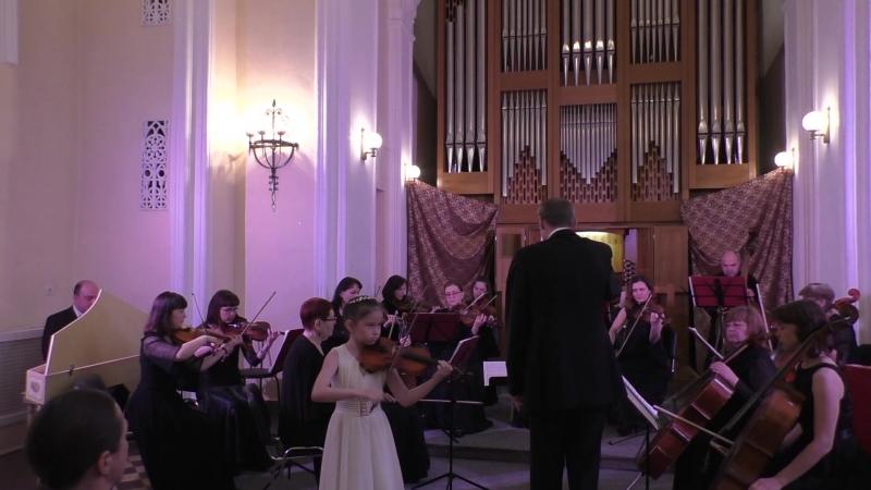 А.Вивальди Концерт соль мажор 1 часть