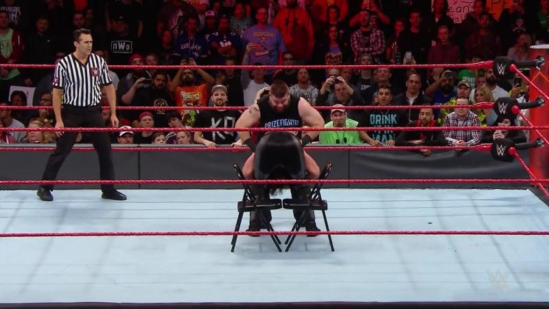 Кевин Оуэнс vs. Сэт Роллинс - ВВЕ Ро 21.11.2016
