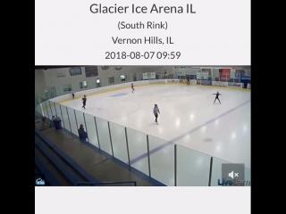 Shoma glacier ice arena vernon hill illinois 7.08.18