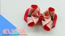 Laço Aula 🎀 Ribbon bow 🎀 DIY by Elysia Handmade