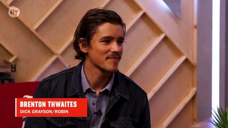 Интервью   «Rotten Tomatoes» Брентон Туэйтес о сериале «Титаны» (11.10.18)