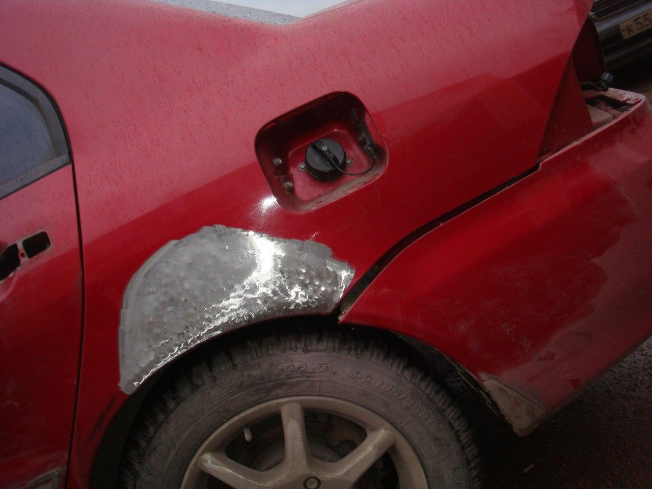 Выпрямляем вмятины на авто без покраски: советы 10
