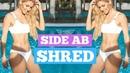 Rebecca Louise - Side Ab Shred for a Slim summer waist!   Тренировка для косых мышц живота