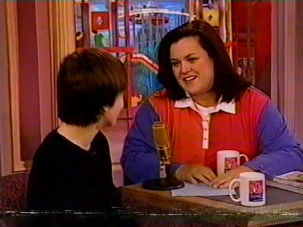 Harry Potter and the Sorcerer's Stone cast on The Rosie O'Donnell Show 11 14 2001