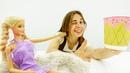 Вечеринка Барби - раскрашиваем стаканчики! Видео для девочек