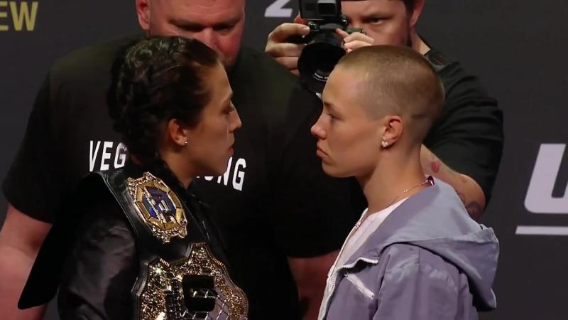 UFC 217 Joanna Jedrzejczyk vs. Rose Namajunas