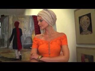 Как ЗАВЯЗАТЬ ЛЕТНИЙ шарф на ГОЛОВЕ ЧАЛМУ ТЮРБАН (KatyaWORLD)