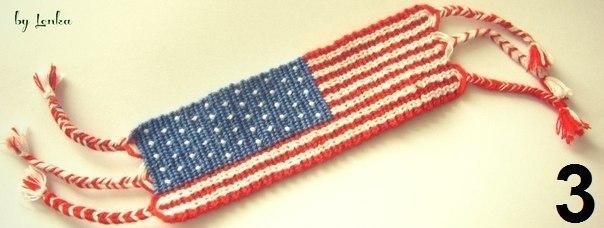 Схема фенечки американский